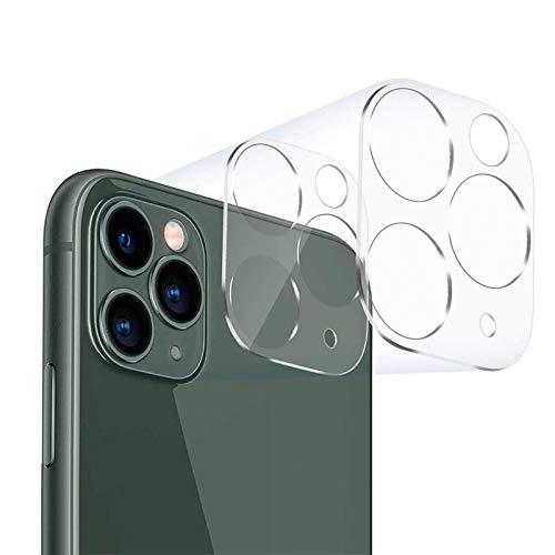 Kit 2x Películas Vidro Transparente Câmera Lente iPhone 11, 11 Pro, 11 Pro Max + Kit Aplicação (iPhone 11 Pro Max)