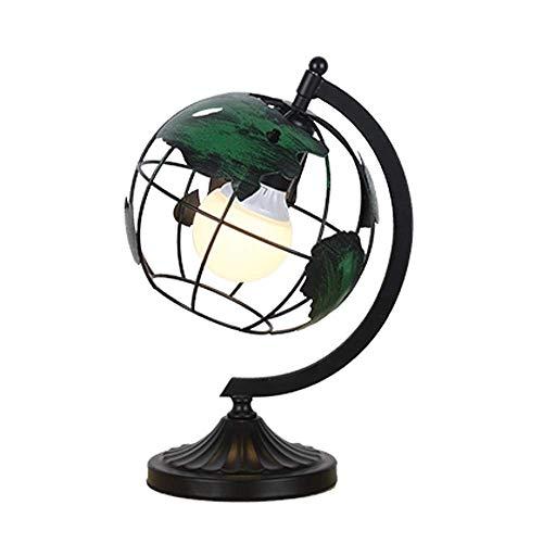Table Lamp, Modern Style World Map Metaal bureaulamp, for kinderen, tieners Thuis, Kantoor Desk Decoratie Lamp slaapkamer, woonkamer, kaptafel