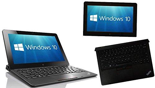 Lenovo ThinkPad Helix Gen 2 11.6 pulgadas Full HD Touchscreen, 5th Gen M5 M-5Y71 4GB 128GB SSD Windows 10 Pro 2-in-1 PC Tablet Laptop (Reacondicionado)