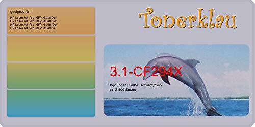 Tóner compatible con HP CF294X, 94X, color: negro, tóner compatible 3.1-CF294X, compatible con: LaserJet Pro MFP M118DW LaserJet Pro MFP M148DW LaserJet Pro MFP M148fDW LaserJet Pro MFP M148