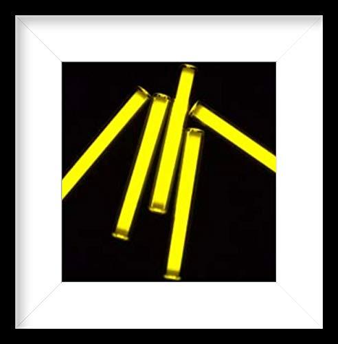 GSH 3x11mm Trit Vials Tritiu Multicolo Self-luminous 15-Years Flashlight Tritium Gadgets Trit Vials (3x11mm, Yellow)