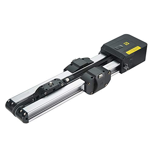"""Zeapon Motorized Micro 2 Camera Slider, Total Travel Distance 52cm/20.4in, Powered by F750/F970/F550 Battery, Camera Track Slider with 1/4""""-3/8"""" Quick Release, APP Control, Load up to 9.9lbs/4.5kg"""