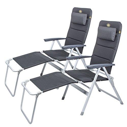 2 x campingstoel