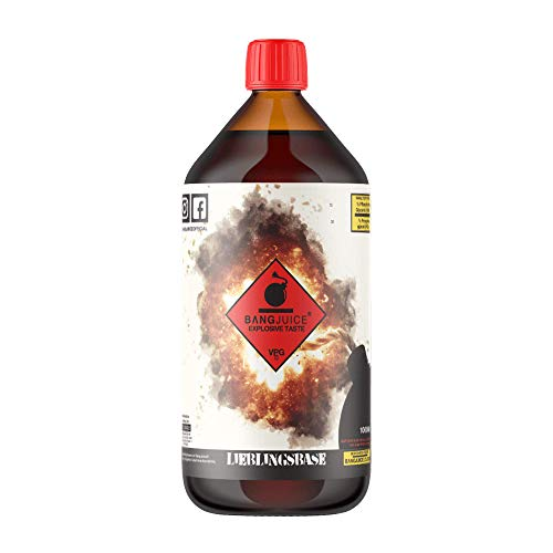 Bang Juice Lieblingsbase Basisliquid Cloud Base, 70% VG/30% PG, Base Liquid 0,0 mg Nikotin, 1000 ml