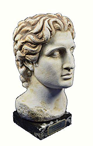 Alexander Escultura Busto gran rey macedonia