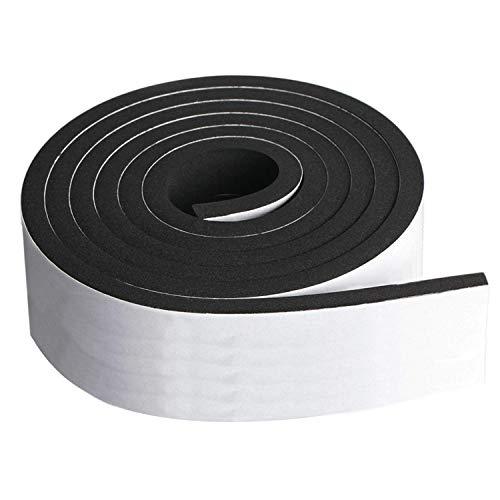 Neoprene Foam Strip Roll by Dualplex, 3
