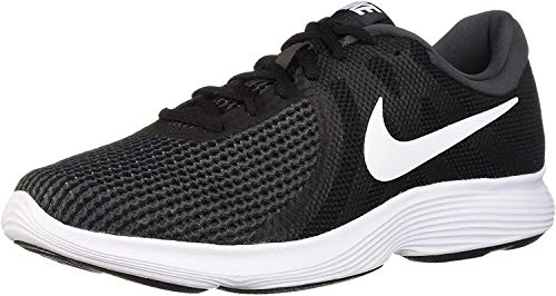 Nike Men's Revolution 4 Running Shoe, Black/White-Anthracite, 10.5 Regular US