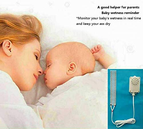 JIN Potty Training Bedwetting Enuresis Alarm Bedtime Wetting Treatment for Children Girls & Boys,Deep Sleepers