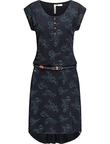 Ragwear Damen Kleid Freizeitkleid Sommerkleid Zephie Organic Navy21 Gr. L