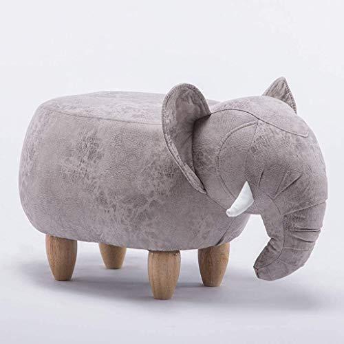 PGS Ottomanen Fußschemel Tierschuh Bank Heim Cartoon-Elefant Schuhe Bench, Kindermode Multifunktions-Sofa Bank (Color : B)