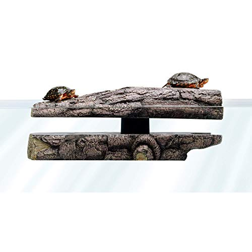 Zilla Floating Log Landing Reptile Décor, 17' x 8' x 5.5'