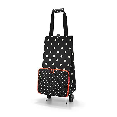 Reisenthel foldabletrolley Mixed Dots Bolsa de Viaje 66 Centimeters 30 Negro (Mixed Dots)