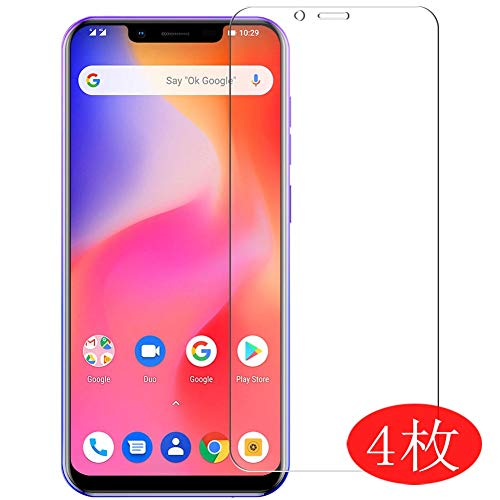 【4 Pack】 Synvy Screen Protector for Ulefone S10 Pro 0.14mm TPU Flexible HD Clear Case-Friendly Film Protective Protectors [Not Tempered Glass] New Version