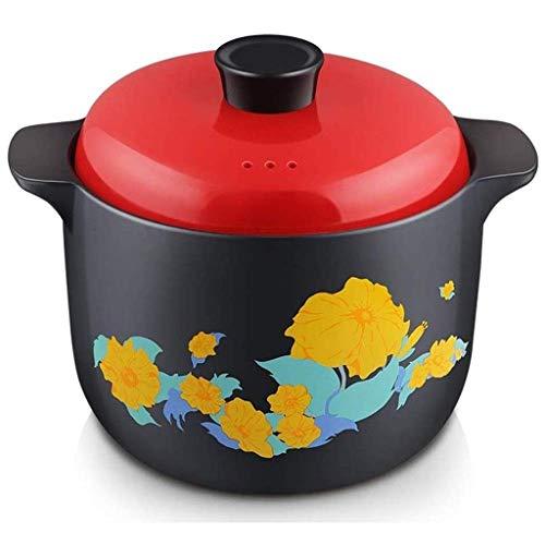 DYXYH Köstliche Casserole Suppentopf Heim Suppe Keramik Suppentopf Casserole Feuer Hitzebeständige Hochtemperatur-Glas-Topf Suppe Suppen