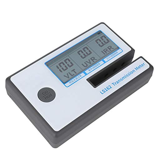 Medidor de transmitancia Vlt, Medidor de tinte de ventana, Medición rápida multifuncional para película de medición de vidrio filmado