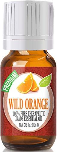 Wild Orange 100% Pure, Best Therapeutic Grade Essential Oil - 10ml