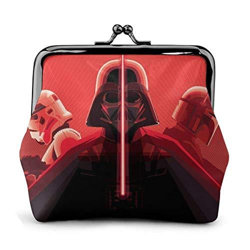 Star War Red Darth Vader Geldbörse Geldbörse Geldbörsen Kreditkartenbeutel Kiss Lock