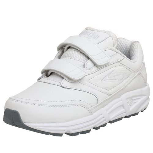 Brooks Damen Addiction Walker V-Strap Walkingschuhe, Weiß (White 111), 41 EU