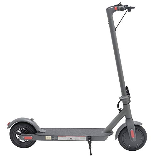 Longtime Electric Lightweight Foldable Scooter for Everyday Outdoor Commuting and Fun for Kids and Adults - UL Safety Certified (Black)