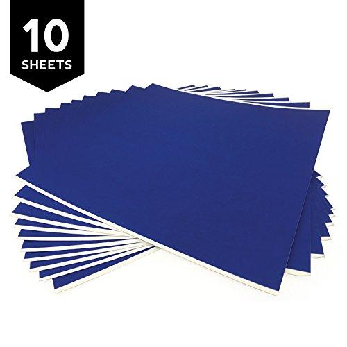"""Gizmo Dorks 3D Printing Platform Blue Tape 8"""" x 8"""" (10 Pack)"""