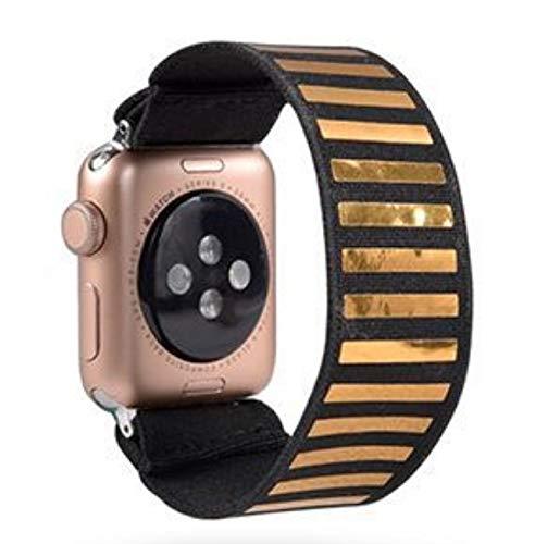 HGGFA Scrunchie Correa for Reloj de la Banda de Apple 40mm 44mm elástico de Las Mujeres Correa 42mm 38mm Pulsera de la muñeca for IWATCH Serie 5 4 3 2 1 (Band Color : 148, Band Width : 42mm 44mm)