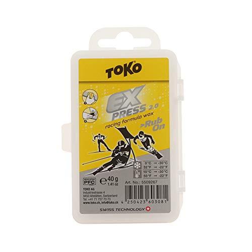 Toko Express Racing Formula Wachs mit Kork, 40 g