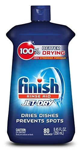 Finish Jet-Dry Rinse Aid, Dishwasher Rinse Agent & Drying Agent, 8.45 Fl Oz