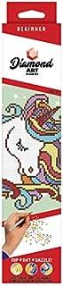 Leisure Arts 49291 DAK Diamond Art Kit 8x8 Beginner Fun Unicorn