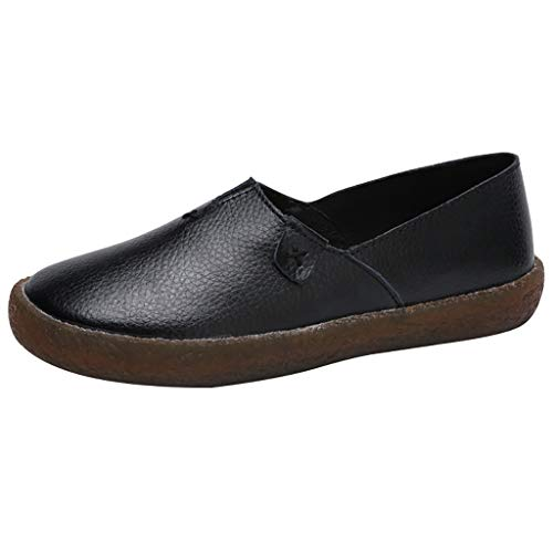 manadlian Femmes Chaussure Automne Chaussures Simples Chic Confortable Baskets Sexy Mode Ballerine Femmes Fond Plat Bout Grossiers Loafers Chaussure de Mariage Robe Chemise Danse Parti