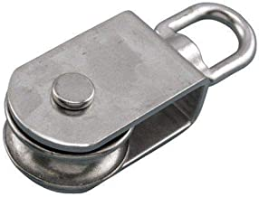 MarineNow 316 Stainless Steel Square Pulley Block 3/8