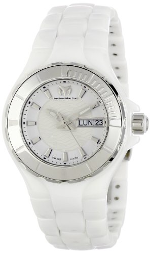 TechnoMarine Women's 110022C Cruise Ceramic 36mm Watch