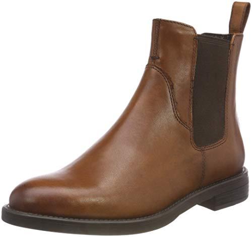 Vagabond Damen Amina Chelsea Boots, Braun (27 Cognac), 40 EU