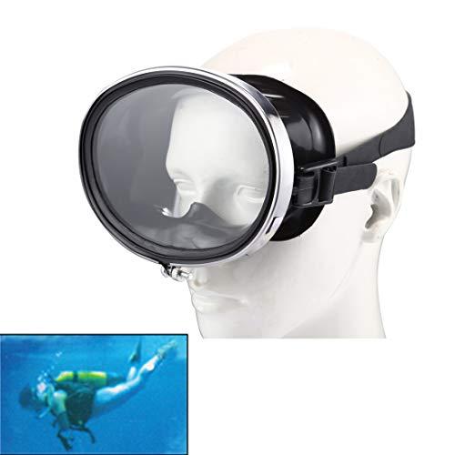 Desqueena Clásico de los vidrios estándar práctico Planta Ancha Vista Flotante Gafas de Buceo (Negro) Práctico y clásica, StarLightd