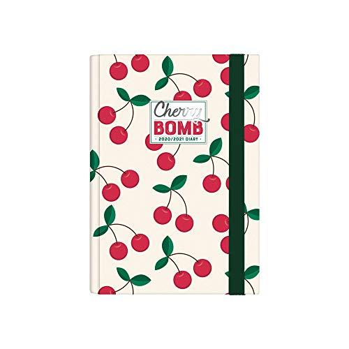 Legami - Agenda Settimanale 16 Mesi 2020 2021 Small, con Notebook, Cherry Bomb - 9.5 x 13.5 cm
