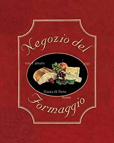 Posterazzi Negozio del Formaggio Poster Print by Catherine Jones, (8 x 10)