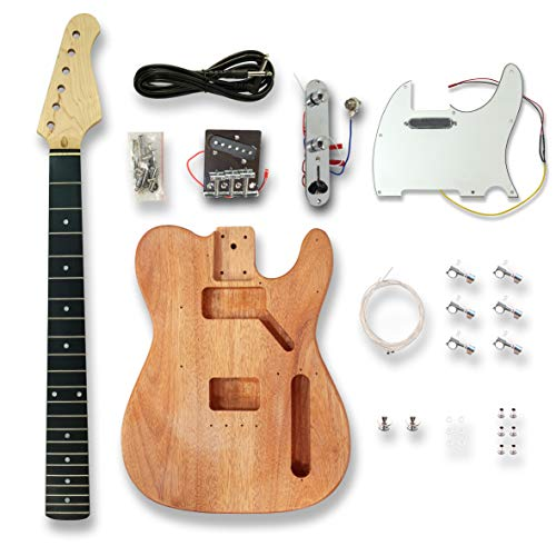 Electric Guitar Kits for TL Electric Guitar, Okoume wood Body
