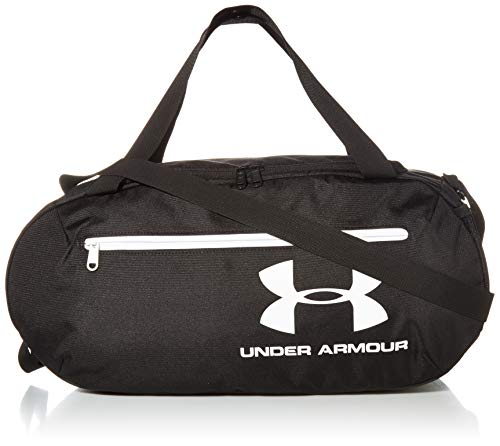 Under Armour Adult Roland Duffle Bag , Black (3)/White , One Size Fits All