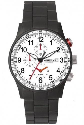 Astroavia H9S - Reloj para Hombres, Correa de Acero Inoxidable