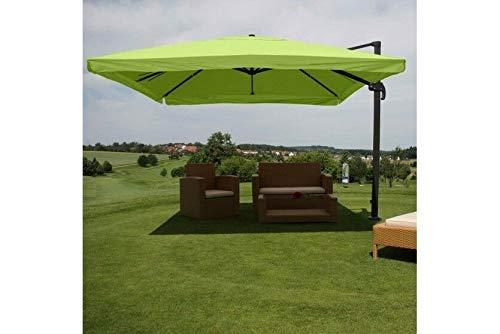 Sonnenschirm Schirm Ampelschirm Ø 4,30 m Marktschirm Gastro Alu Gastro grün