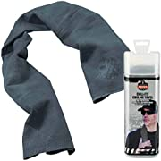 Ergodyne Chill Its 6602 Cooling Towel, Long Lasting Cooling Relief