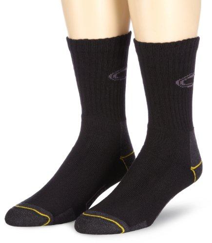 camel active Herren Socke 2 er Pack 6557 boot socks 2 pack, Gr. 43-46, Schwarz (black - 610)