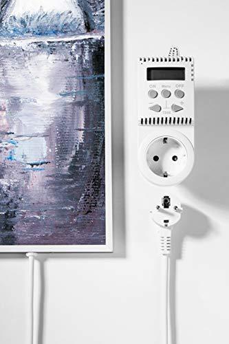 Könighaus 600W/800W/1000Watt Infrarot Bildheizung Ölgemälde Infrarotheizung mit kaufen  Bild 1*
