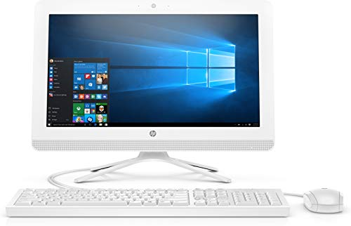 "HP 20 -c409ns 49,5 cm (19.5"") 1920 x 1080 Pixeles 2,3 GHz AMD A A4-9125 Blanco PC Todo en uno -"