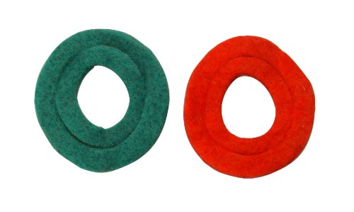 Road Power 0989 Anti-Corrosion Fiber Washers, 1 Pack (2 Washers), 6 and 12-Volt