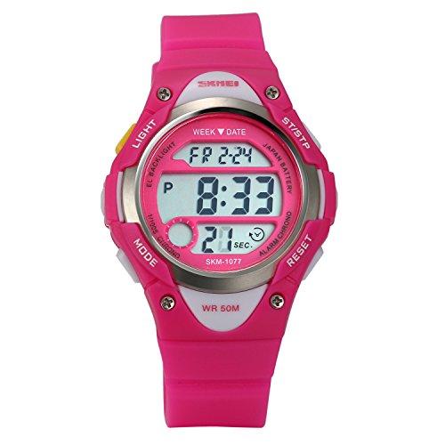 LANCARDO Kinder Sportuhr Digital mit Armband LCD24P042