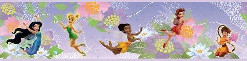 RoomMates Disney Fairies Frise autocollante Motif fées