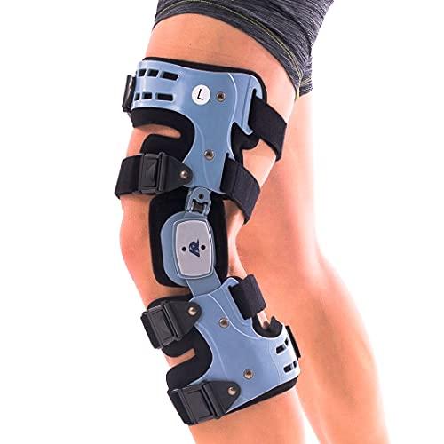 Comfyorthopedic OA Unloader Knee Brace for Osteoarthritis Bone on Bone Arthritis Adjustable ROM Offloading Knee Joint Pain Cartilage Repair Degeneration Left Lateral or Right Medial L1851 / L1843