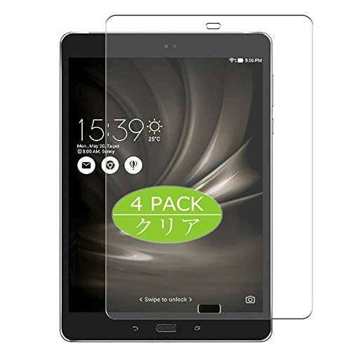 Vaxson 4 Stück Schutzfolie kompatibel mit ASUS ZenPad 3S 10 LTE Z500KL 9.7