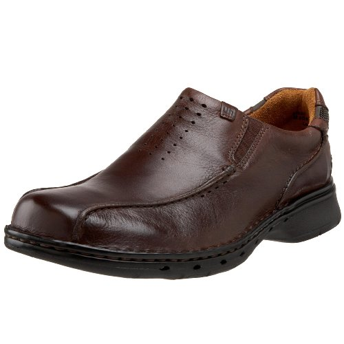 Clarks Unstructured Men's Un.Seal Casual Slip On,Brown,9.5 M US