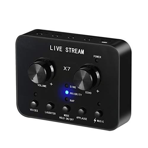 KOBI USB2.0 External 7.1 Channel 3D Virtual Audio Sound Card Adapter PC Laptop Black